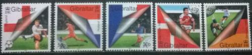 C@- Gibraltar - Fútbol - Euro 2000 - Yvert # 906/9 - Mint