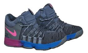 Kp3 Botas Niñas Niños Nike Kevin Duran Gris Multicolor