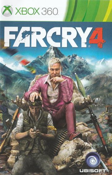 Far Cry 4 Em Português Dublado Xbox 360 Mídia Digital !!!