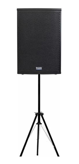 Kit Musico C/ Caixa Ativa Mark Audio Ca1200 250w+ Pedestal