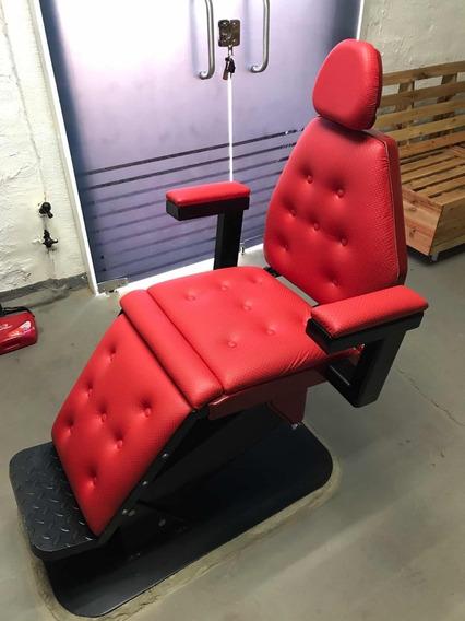 Cadeira De Barbeiro Eletrica