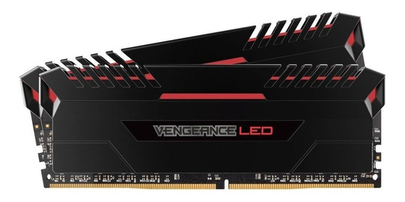 Memória Ddr4 16gb 2x8 Corsair Vengeance Gamer Led 3000 Mhz