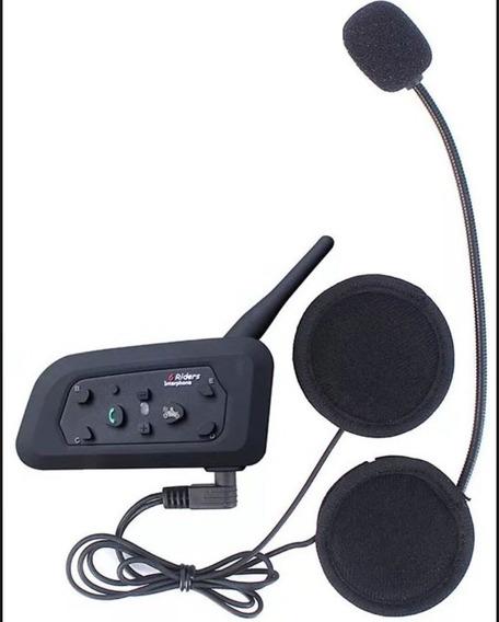 Intercomunicador Capacete V6 Vnetphone