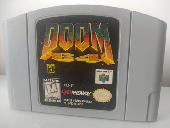 Jogo Doom 64 Nintendo 64