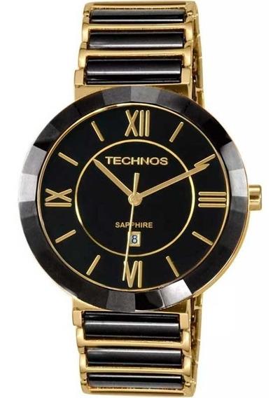 Relógio Technos Cerâmica Safira Grande 2015bv/4p Oferta