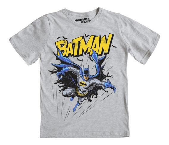 Playera Mascara De Latex Niño Batman De Noche ¡envio Gratis!