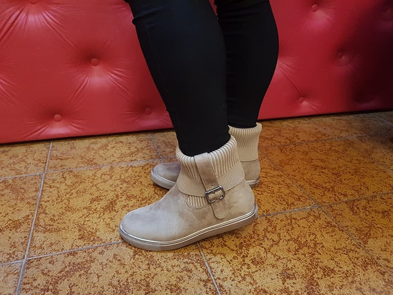 Botas Botinetas Zapatillas Sneakers Cortas Caña Elastizadas