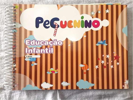 Livro Pequenino Educação Infantil - 3 Anos 1° Semestre