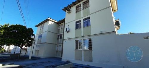 Imagem 1 de 12 de Apartamento Com 2 Quartos Em Capim Macio - V-11642