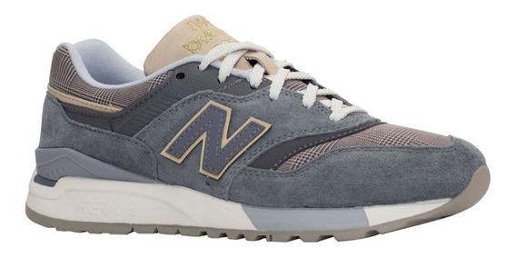 New Balance 997 Lavander Geometric