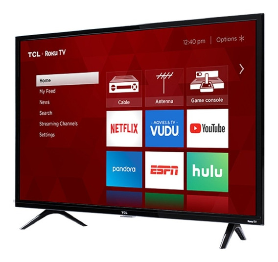 Televisor Tv Smartv 32 PuLG Roku Wifi Led Hd Rt170