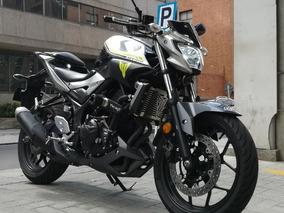 Yamaha Mt03 Gris
