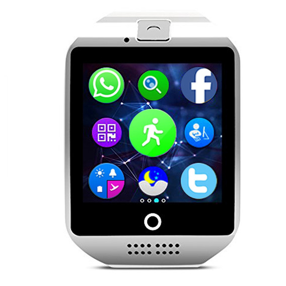 Q18 Mtk6261d 1.54 Hd Gsm 2g Inteligente Reloj W 32mb Ram + 3