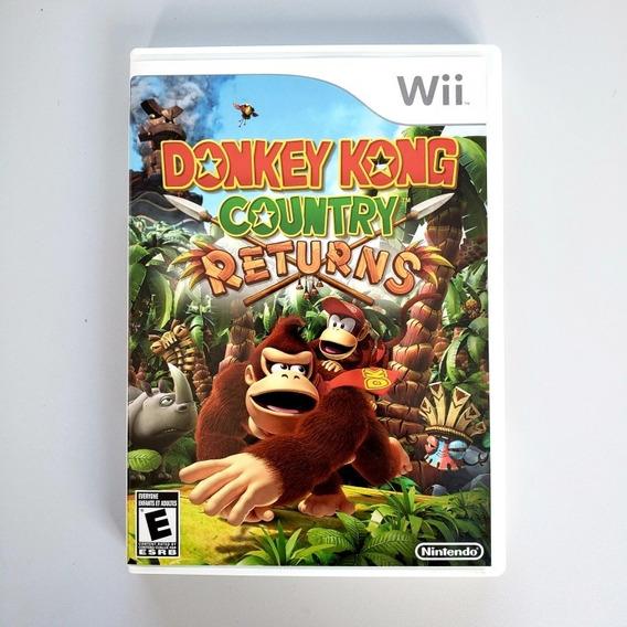 Donkey Kong Country Returns Nintendo Wii Wii U Midia Fisica