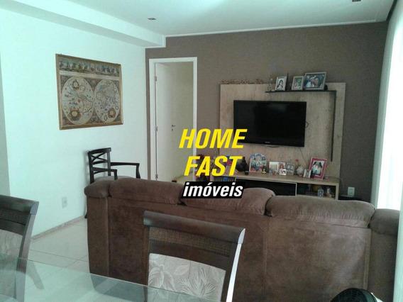 Apartamento No Parque Clube Com 3 Dormitórios À Venda, 134 M² Por R$ 840.000 - Vila Augusta - Guarulhos/sp - Ap0546