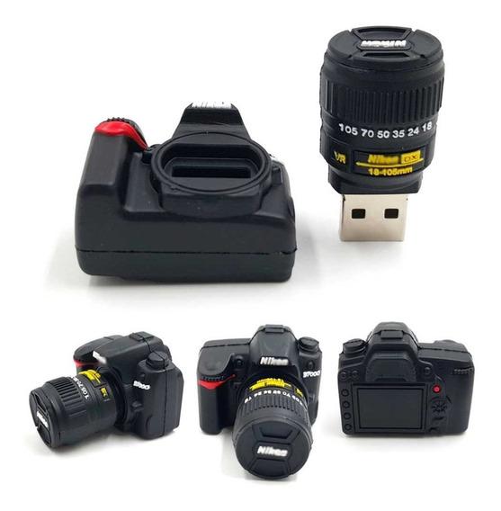 Pen Drive 32gb Personalizado Câmera Fotógrafos Profissionais