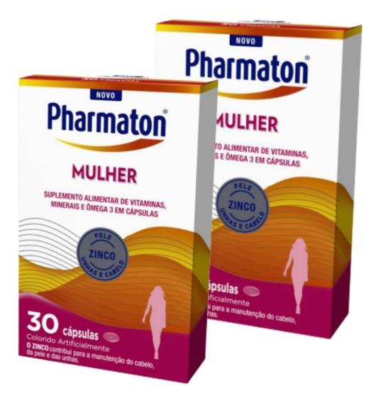 Kit C/2 Pharmaton Mulher 30 Cápsulas