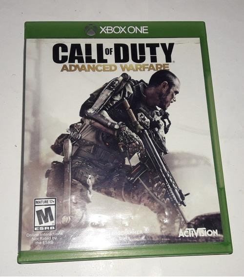 Call Of Duty Advanced War Fire Mídia Física Xbox One