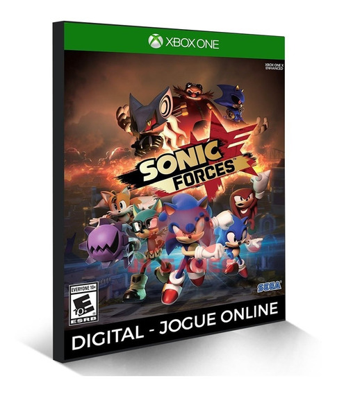Sonic Forces Xbox One Digital Original Online