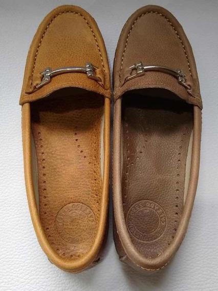Zapatos Mocasines De Cuero Talles Especiales