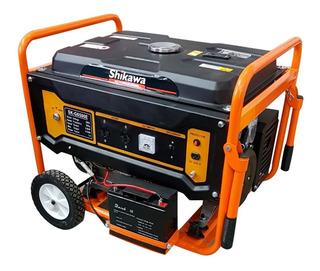 Grupo Electrogeno Generador 13hp 6.9kva Arranque Electrico