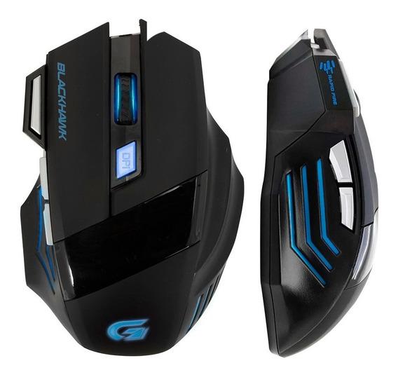 Mouse Gamer 2400dpi Com 7 Botões Usb Pc Notebook Rgb Mac
