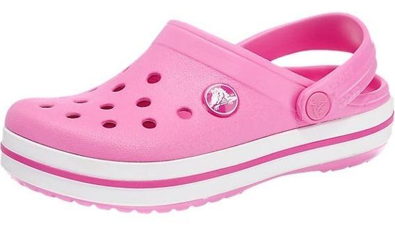 Crocs Crocband Niños Originales Party Pink