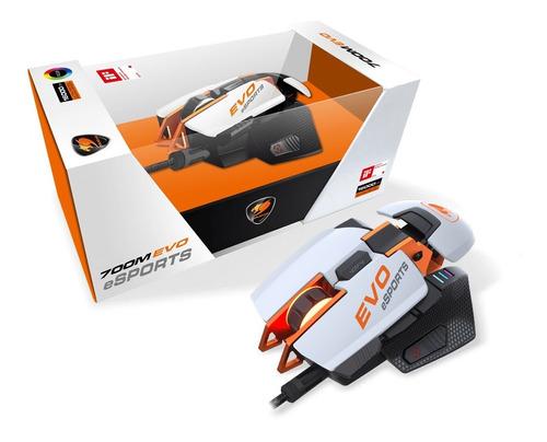 Imagen 1 de 8 de Mouse Cougar 700m Evo Esports 16000dpis Blanco