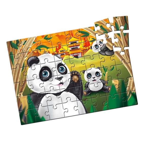 Quebra-cabeça Grandão Pandas 48 Peças - Estrela Estrela