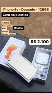 iPhone 6s - 128gb - Dourado