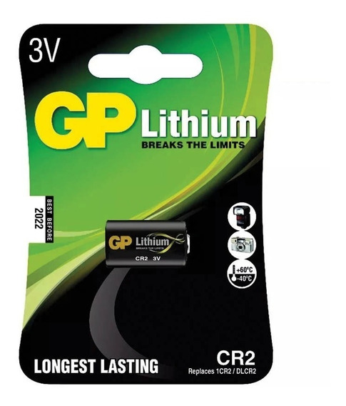 Bateria Lithium Photo Cr2 3v Gp Batteries