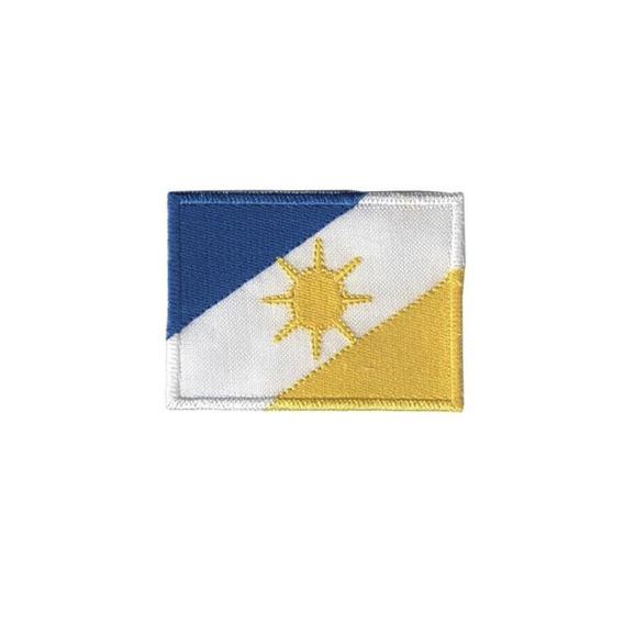 Bordado Termocolante Bandeira Tocantins Patche Termocolante