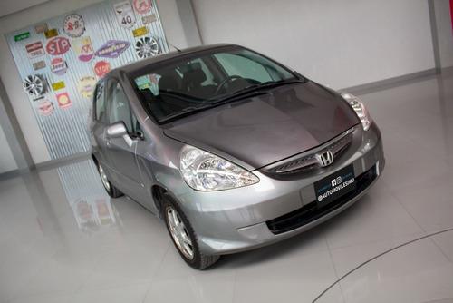 Honda Fit Lxl Nafta 2007 Gris