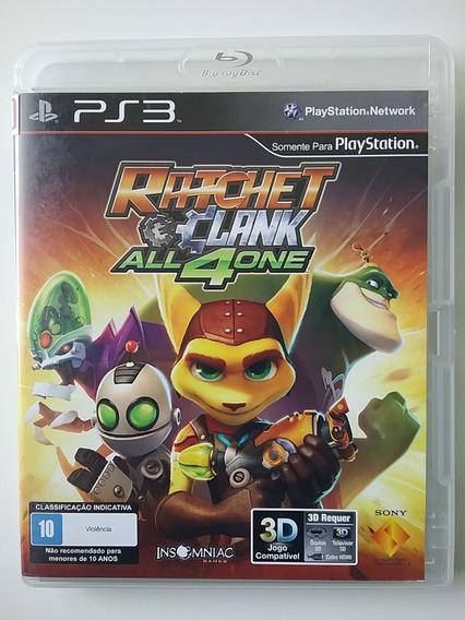 Ratchet And Clank All 4 One Ps3 Mídia Física Original Ótimo