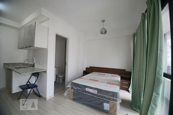Studio No 8º Andar Mobiliado Com 1 Dormitório - Id: 892994822 - 294822