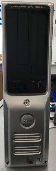 Cpu Dell Dimension C521 Amd Sempron 1.8 1gb 80gb Hd