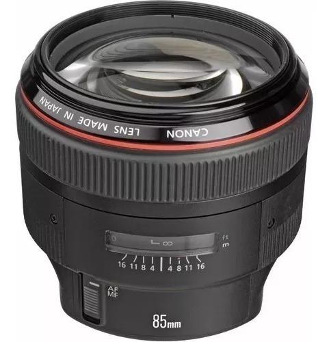 Lente Canon Ef 85mm F/1.2 Ii Usm Garantia E Nf