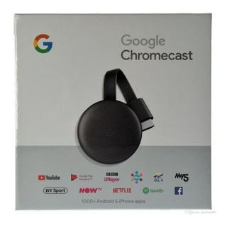 Google Chromecast 3 Nuevo Sellado Fantasytraderok