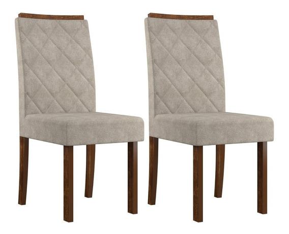 Conjunto 2 Cadeiras Elegance Sonetto Móveis Ed
