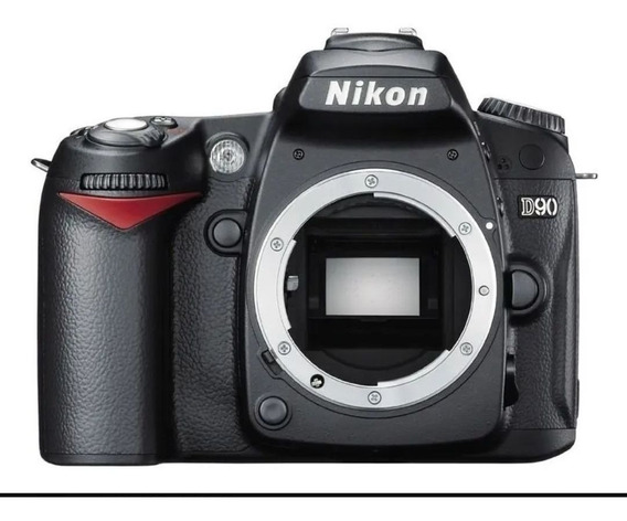Classica Nikon D90 Como Nova / 10 Mil Clicks / Corpo.