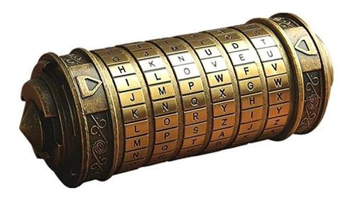 Imagen 1 de 10 de Código Da Vinci Mini Cryptex Collares + Anillos San Valentin