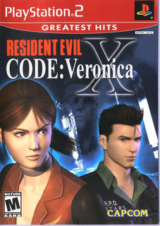 Resident Evil Code Veronica X - Ps2