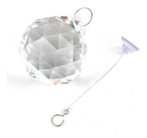 Cristal Multifacetado Feng Shui - Cordão 9cm 50mm Asfour
