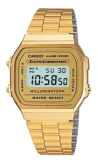Reloj Casio Vintage Original A168wg9vt E-watch