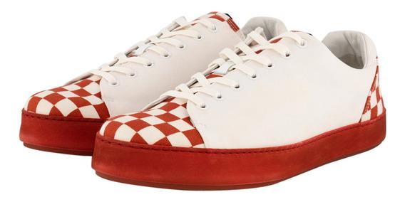Tenis Tommy Hilfiger Rojo Fm0fm02072-901 Hombre
