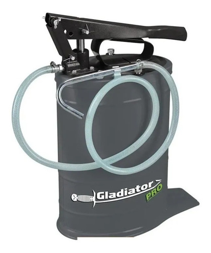 Aceitera Manual Bomba De Aceite 20kg Gladiator Ea820 + Rueda