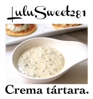 Guia Digital Repostería Receta Crema Tartara Salado