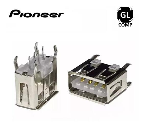 Conector Usb Pioneer Original Deh Mixtrax Kit 05 Pçs - Carta