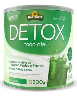 Suplemento Nautural Detox Solúvel - 300gr - Sunflower