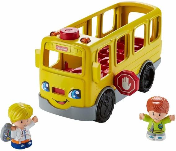 Little People Camión Autobús Bus Escolar De Fisher Price